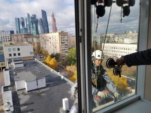 Монтажные высотные работы в Москве